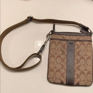 Coach side satchel purse